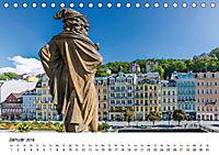 Westböhmisches Bäderdreieck - Karlsbad, Marienbad und Franzensbad (Tischkalender 2018 DIN A5 quer) - Produktdetailbild 1