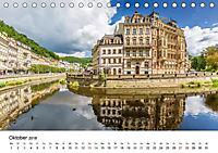 Westböhmisches Bäderdreieck - Karlsbad, Marienbad und Franzensbad (Tischkalender 2018 DIN A5 quer) - Produktdetailbild 10