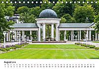 Westböhmisches Bäderdreieck - Karlsbad, Marienbad und Franzensbad (Tischkalender 2018 DIN A5 quer) - Produktdetailbild 8