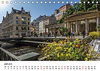 Westböhmisches Bäderdreieck - Karlsbad, Marienbad und Franzensbad (Tischkalender 2019 DIN A5 quer) - Produktdetailbild 7
