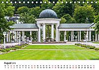 Westböhmisches Bäderdreieck - Karlsbad, Marienbad und Franzensbad (Tischkalender 2019 DIN A5 quer) - Produktdetailbild 8
