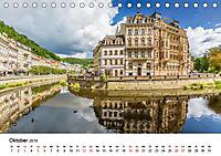 Westböhmisches Bäderdreieck - Karlsbad, Marienbad und Franzensbad (Tischkalender 2019 DIN A5 quer) - Produktdetailbild 10