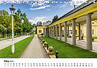 Westböhmisches Bäderdreieck - Karlsbad, Marienbad und Franzensbad (Tischkalender 2019 DIN A5 quer) - Produktdetailbild 3