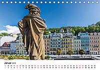 Westböhmisches Bäderdreieck - Karlsbad, Marienbad und Franzensbad (Tischkalender 2019 DIN A5 quer) - Produktdetailbild 1