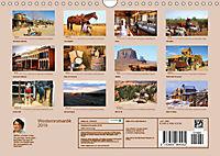 Westernromantik 2019. Impressionen aus dem Wilden Westen (Wandkalender 2019 DIN A4 quer) - Produktdetailbild 13