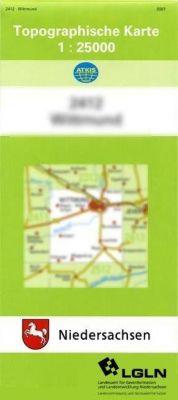 Westerstede 1 : 25 000. (TK 2713/N)
