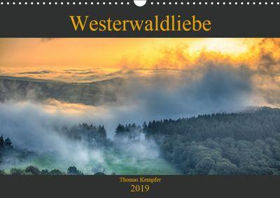 Westerwaldliebe (Wandkalender 2019 DIN A3 quer), Thomas Kempfer