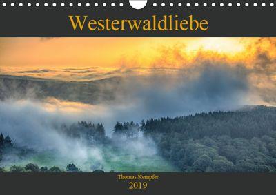 Westerwaldliebe (Wandkalender 2019 DIN A4 quer), Thomas Kempfer
