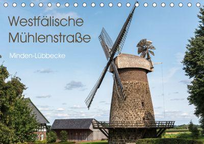 Westfälische Mühlenstraße (Tischkalender 2019 DIN A5 quer), Barbara Boensch