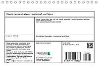 Westliches Australien - Landschaft und Natur (Tischkalender 2019 DIN A5 quer) - Produktdetailbild 13