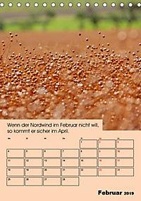 Wetter-Regeln der Bauern (Tischkalender 2019 DIN A5 hoch) - Produktdetailbild 2