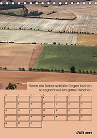 Wetter-Regeln der Bauern (Tischkalender 2019 DIN A5 hoch) - Produktdetailbild 7
