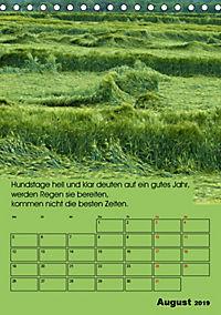 Wetter-Regeln der Bauern (Tischkalender 2019 DIN A5 hoch) - Produktdetailbild 8