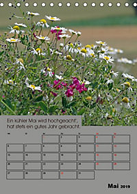 Wetter-Regeln der Bauern (Tischkalender 2019 DIN A5 hoch) - Produktdetailbild 5