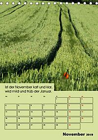 Wetter-Regeln der Bauern (Tischkalender 2019 DIN A5 hoch) - Produktdetailbild 11
