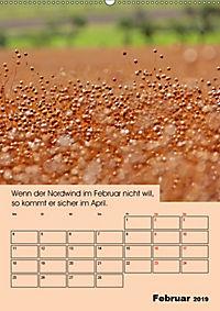 Wetter-Regeln der Bauern (Wandkalender 2019 DIN A2 hoch) - Produktdetailbild 2
