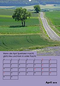 Wetter-Regeln der Bauern (Wandkalender 2019 DIN A2 hoch) - Produktdetailbild 4
