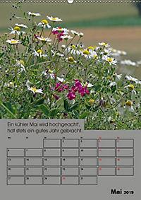 Wetter-Regeln der Bauern (Wandkalender 2019 DIN A2 hoch) - Produktdetailbild 5