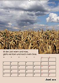 Wetter-Regeln der Bauern (Wandkalender 2019 DIN A2 hoch) - Produktdetailbild 6