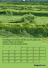 Wetter-Regeln der Bauern (Wandkalender 2019 DIN A2 hoch) - Produktdetailbild 8