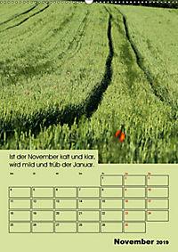 Wetter-Regeln der Bauern (Wandkalender 2019 DIN A2 hoch) - Produktdetailbild 11