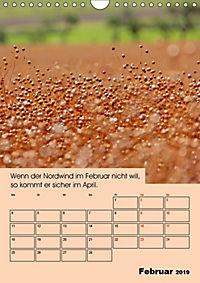 Wetter-Regeln der Bauern (Wandkalender 2019 DIN A4 hoch) - Produktdetailbild 2