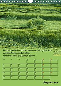 Wetter-Regeln der Bauern (Wandkalender 2019 DIN A4 hoch) - Produktdetailbild 8