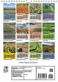 Wetter-Regeln der Bauern (Wandkalender 2019 DIN A4 hoch) - Produktdetailbild 13