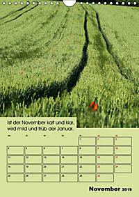 Wetter-Regeln der Bauern (Wandkalender 2019 DIN A4 hoch) - Produktdetailbild 11
