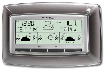 Wetterstation WD4005 (Farbe: schwarz)