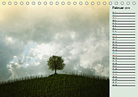 Wetterstimmungen. Dynamische Naturlandschaften (Tischkalender 2019 DIN A5 quer) - Produktdetailbild 2