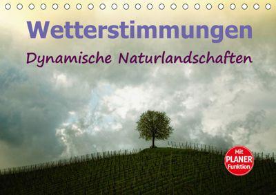 Wetterstimmungen. Dynamische Naturlandschaften (Tischkalender 2019 DIN A5 quer), Liselotte Brunner-Klaus