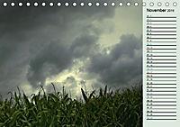 Wetterstimmungen. Dynamische Naturlandschaften (Tischkalender 2019 DIN A5 quer) - Produktdetailbild 11