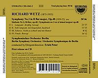 Wetz:Sinfonie 3 - Produktdetailbild 1