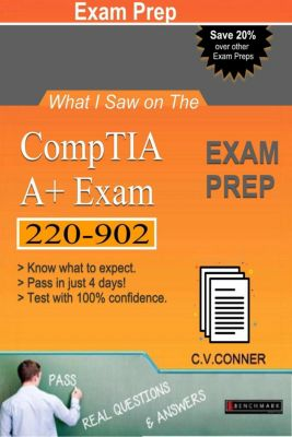 What I Saw: What I Saw on The Comptia A+ 220-902 Exam, C.V., Ph.D. Conner