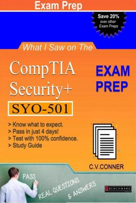 What I Saw: What I Saw on The CompTIA Security+ SYO-501 Exam, Ph.D. C.V.Conner