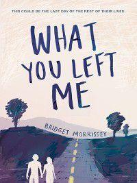 What You Left Me, Bridget Morrissey