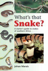 What's that Snake?, Johan Marais
