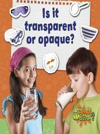 What's the Matter?: Is It Transparent or Opaque?, Susan Hughes