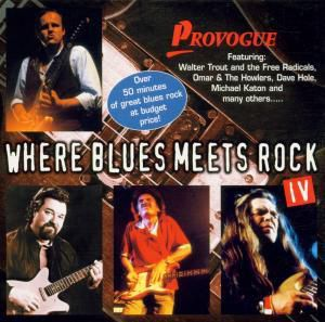 Where Blues Meets Rock Vol. 4, Diverse Interpreten