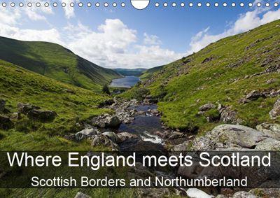 Where England meets Scotland (Wall Calendar 2019 DIN A4 Landscape), Lothar Stobbe