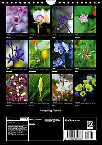 Whispering Flowers (Wall Calendar 2019 DIN A4 Portrait) - Produktdetailbild 13