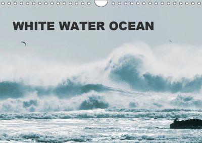 White Water Ocean (Wall Calendar 2019 DIN A4 Landscape), Jill Robb