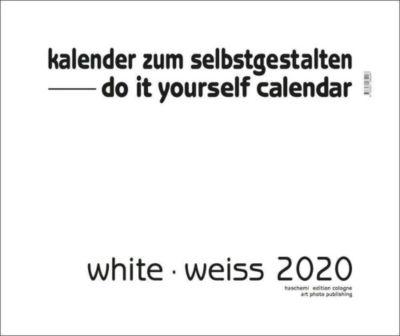 White - Weiss 2019 - Blanko Gross XL Format, Baback Haschemi
