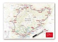 Whiteboard Nürburgring Nordschleife, Planokarte -  pdf epub