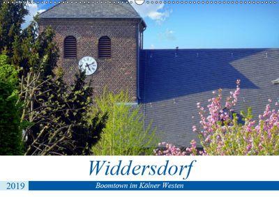 Widdersdorf - Boomtown im Kölner Westen (Wandkalender 2019 DIN A2 quer), Henning von Löwis of Menar