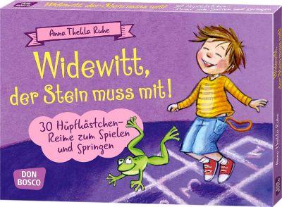 Widewitt, der Stein muss mit!, Anleitungskarten - Anna Thekla Ruhe |