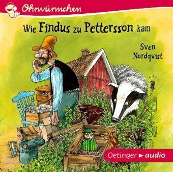 Wie Findus zu Pettersson kam, 1 Audio-CD, Sven Nordqvist