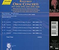 Wiedergewonnene Oboenkonzerte - Produktdetailbild 1