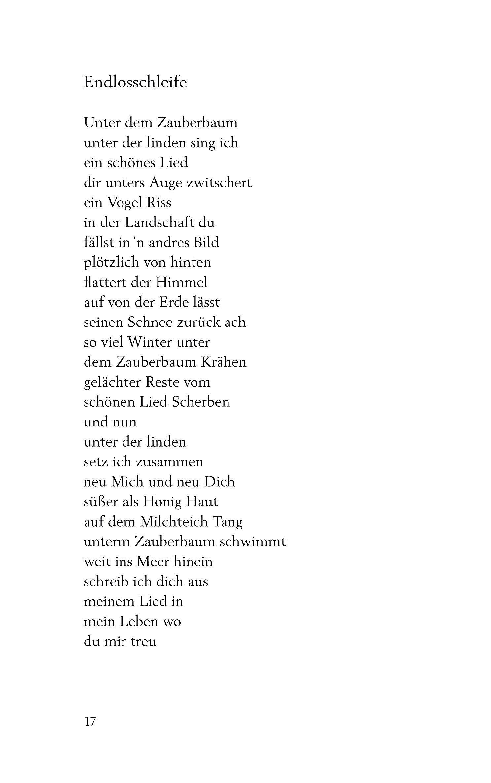 Ulla hahn bekanntschaft interpretation